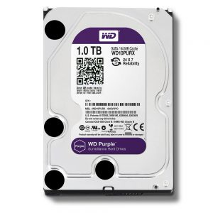 WD PURPLE SURVEILLANCE HARD DRIVE 1TB