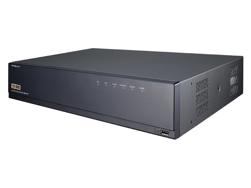 XRN 1610 side - جهاز عرض وتسجيل شبكي 16 قناة سامسونج